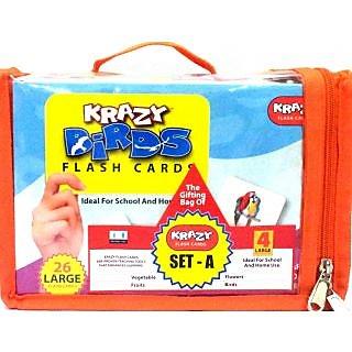 Krazy Flashcards Set- A