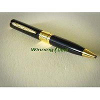 Pen Camera SPY CAMERA with memory card slot + FREE Tutorial CD + Tech Supp No