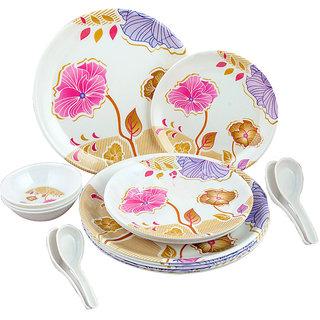 18 Pcs. Melamine Dinner Set