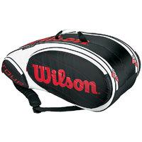 WILSON TOUR 9 RKT BAG BK WH RD (WRZ842309)