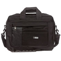 Raeen Plus Office Cum Laptop Bags Black Side Patch