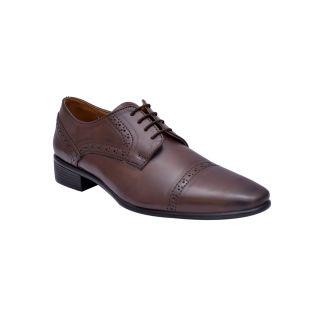 Hirels Brown Derby Shoes