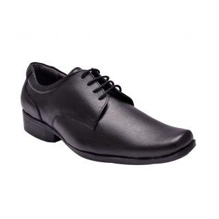 Hirels Black Derby Shoes