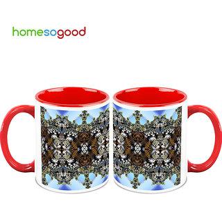 HomeSoGood Pathway To Heaven Coffee Mugs (2 Mugs) (HOMESGMUG729-A)