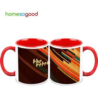 HomeSoGood Dark Junkyard Coffee Mugs (2 Mugs) (HOMESGMUG726-A)