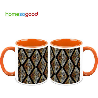 HomeSoGood Lovely Wall Hangings Coffee Mugs (2 Mugs) (HOMESGMUG700-A)