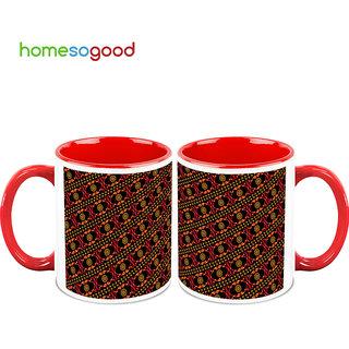 HomeSoGood Collection Of Friendship Coffee Mugs (2 Mugs) (HOMESGMUG753-A)