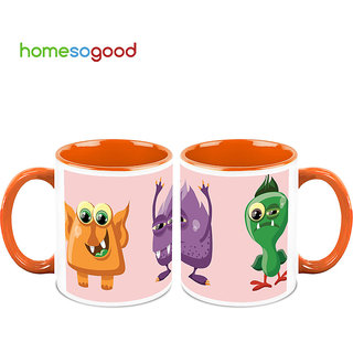 HomeSoGood Fear Of Every Childhood Coffee Mugs (2 Mugs) (HOMESGMUG717-A)