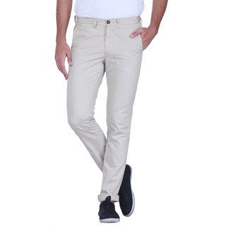 Grasim  Slim Fit Cotton Neutral -2 Mens Chinos