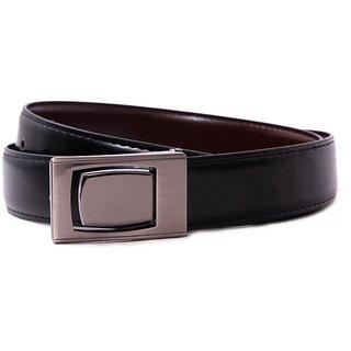 Pacific Gold Reversible Belt 35 Mm (Black/ Brown) - Design 5