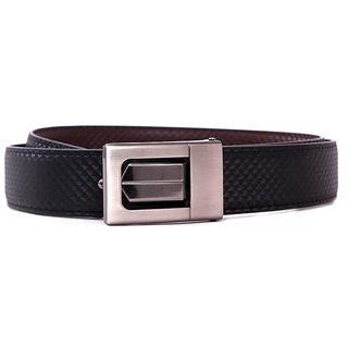Pacific Gold Reversible Belt 35 Mm (Black/ Brown) - Design 1