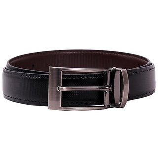 Pacific Gold Reversible Belt 35 Mm (Black/ Brown)