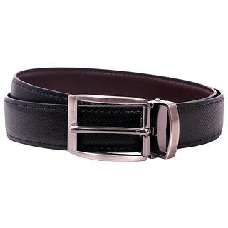 Pacific Gold Reversible Belt 35 Mm (Black/ Brown) - Design 2