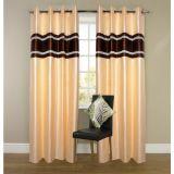 Beautiful Designer Crush Curtain(set Of 2) - 4x7ft