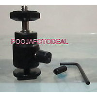 "Multi Purpose 1/4"" Mini Tripod Ball Head Kit Shoe Mount For All DSLR Camera NEW"