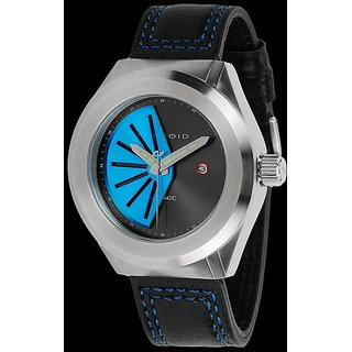 Android AD739BBU Rotator 50MM Automatic Blue Dial Black Leather Band Watch