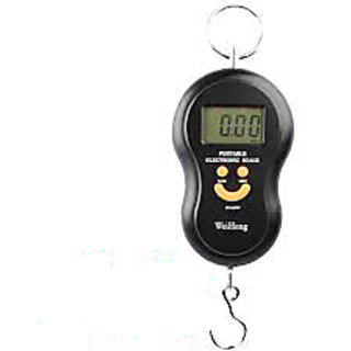 40kg Portable Electronic Digital Weighing Scale Kitchen Scale Weight Machine available at ShopClues for Rs.289