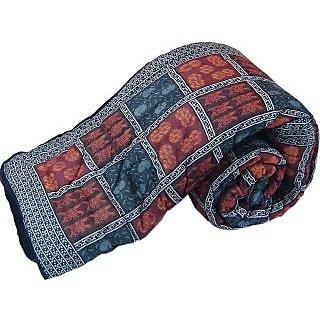 Marwal Jaipur Handblock Coton Double Bed Rajai Quilt