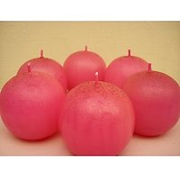 2Red Ball Candle (Pack Of 12)