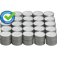 Tea Light Candles 1 Pack ( 50 Pcs WHITE ) -NIKsales