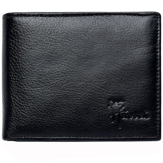 Hawai Stylish Black Spacious Men's Wallet