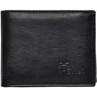 Hawai Black Pure Leather Men's Wallet