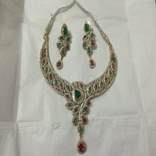 BFI Beautiful Multi Color Designer Jewellery Set