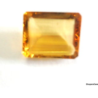 Shoppers Cave Facited Citrine Oct. Stone