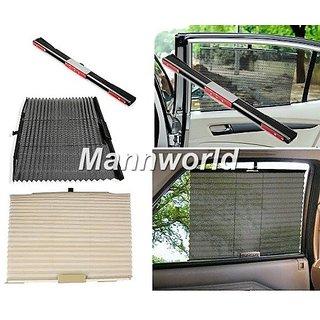 Curtains Ideas car window curtain : Universal Car Curtain Automatic Side Window Sun Shade - Black ...