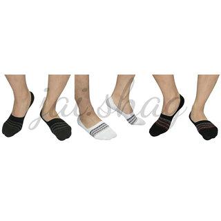 DONGCHENG Mens Anti-Slip Loafer Socks - Pack Of 3