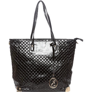 Raeen Plus Black Mermaid Hand Cum Totoe Bag