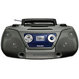 Philips Music System AZ1852-98 (Black) AZ1852 Boom Box Fm Radio Cassette Player