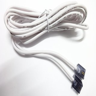 Telephone  Modem Line Cord Cable-RJ11  (3 METER-WHITE COLOR))
