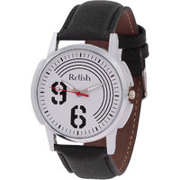 Relish Analog Leather Casual Wear Watch For Men - 82915294