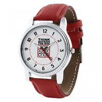 Relish Analog Leather Casual Wear Watch For Men - 82915773