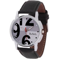 Relish Analog Leather Casual Wear Watch For Men - 82915713