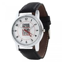 Relish Analog Leather Casual Wear Watch For Men - 82916303