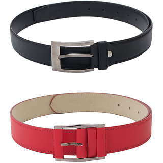 Skyways Men'S Belts Combo (Blm-9-Blm-Clr-Red)