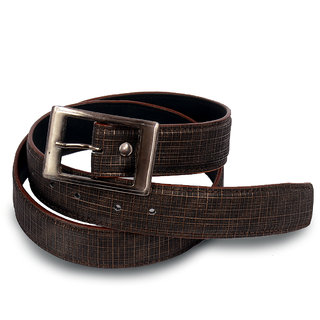 Men brown stylish belt