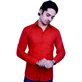 OFU RD Slim Fit Casual Shirt