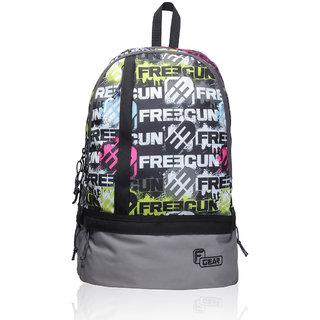 F Gear Burner 20 Liters P1 Grey Casual Backpack