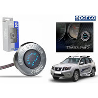 Sparco Car Engine Push Start Button With Led Light-Nissan Terrano - (61367)