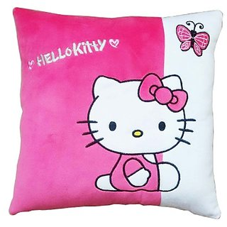 Hello Kitty Pink And White Cushion