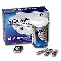 SD CHECK GOLD STRIPS (50 Test) (25 Tx2 Vials)