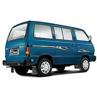 Maruti Suzuki Omni Car Body Cover in Silver Matty Cloth - OMNI (All Models)