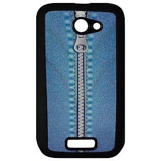Mobile Back Cover ZT12827 Multicolor 3D Rubberised Soft Mobile Back Case for Micromax Unite A092