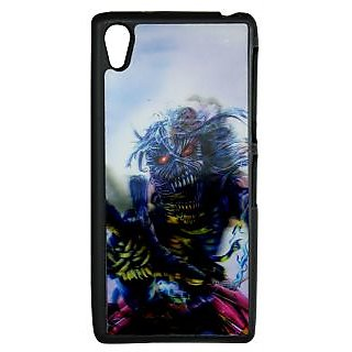 Mobile Back Cover ZT13105 Multicolor 3D Rubberised Soft Mobile Back Case for Sony Xperia Z2