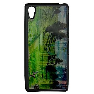 Mobile Back Cover ZT13107 Multicolor 3D Rubberised Soft Mobile Back Case for Sony Xperia Z2