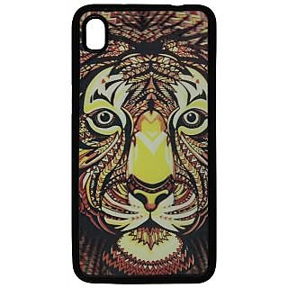 Back Cover ZT13447 Multicolor 3D Rubberised Soft Mobile Back Case for Micromax Canvas Fire2 A104