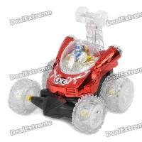 Stunt Car 360 Degrees Rotating Toy With Remote